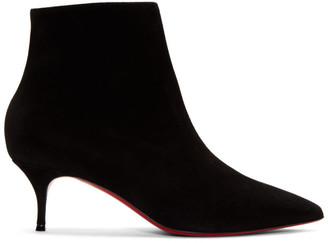 Christian Louboutin Black So Kate 55 Boots