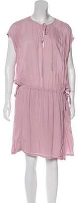 Raquel Allegra Short Sleeve Knee-Length Dress