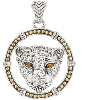 Jai JAI Sterling Silver & 14K Gold & Gemstone Leo Enhancer, 19.8g