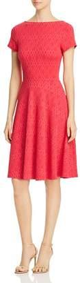 Leota Diamond Jacquard Dress
