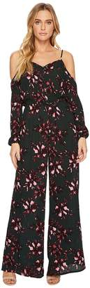 BB Dakota Adaline Romantic Floret Printed Crinkle Rayon Jumpsuit Women's Jumpsuit & Rompers One Piece