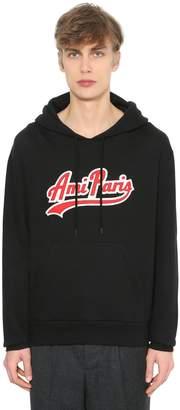 Ami Alexandre Mattiussi Logo Patch Hooded Sweatshirt