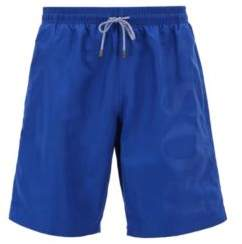 BOSS Hugo Swim shorts in brushed technical fabric M Blue