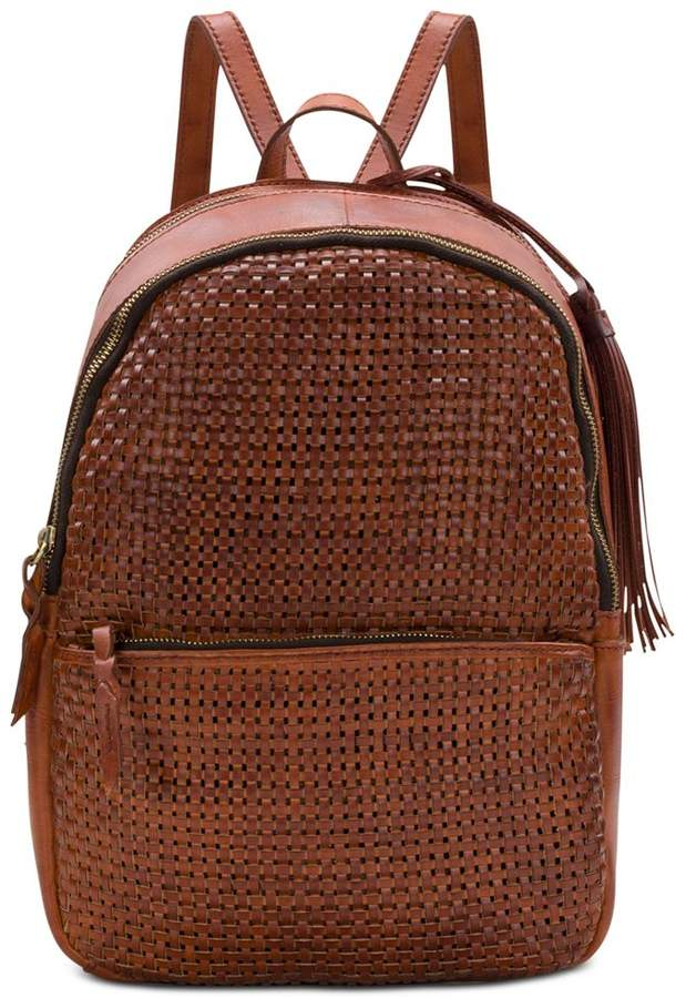 Patricia Nash Woven Turi Small Backpack