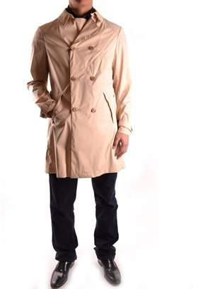 Brema Men's Beige Cotton Coat.