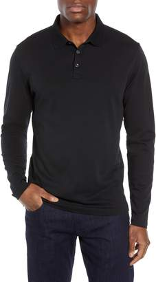Robert Barakett Batiste Long Sleeve Polo
