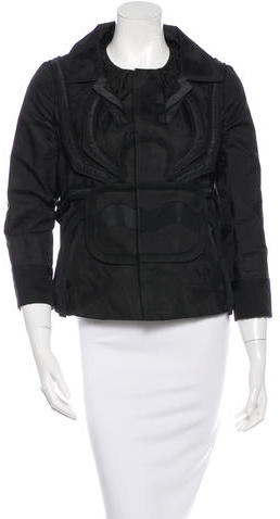 Undercover Silk Jacquard Jacket