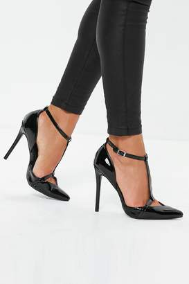 Next Womens Missguided T-Bar Court Shoes