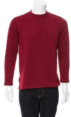Leon Aimé Dore Rib Knit Crew Neck Sweater