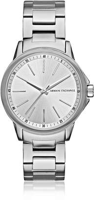 Armani Exchange Lady Banks Silver Tone Women's Watch
