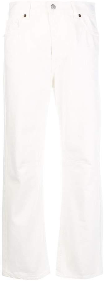 Mm6 Maison Margiela high-waist straight leg jeans