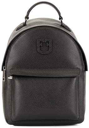 Furla Favola logo patch backpack