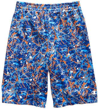 Champion Splatter-Print Shorts, Little Boys