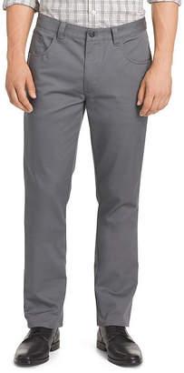 Van Heusen Mens Slim Fit Flat Front Pant