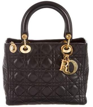 Christian Dior Cannage Lady Bag