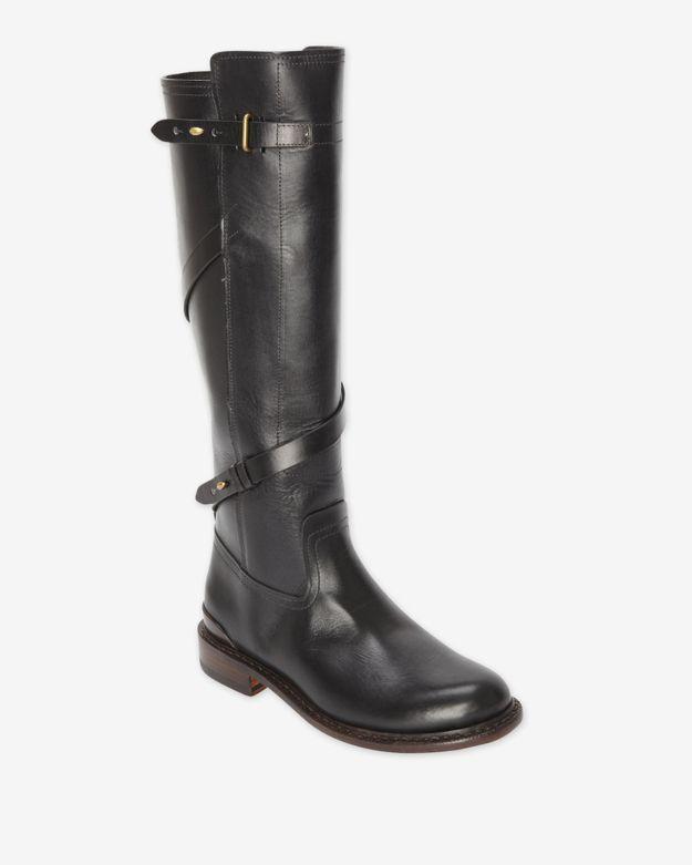 Rag and Bone Rag & Bone Reed Leather Boot: Black