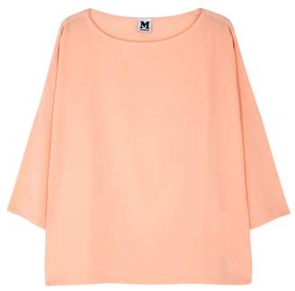 M Missoni Peach Silk Top