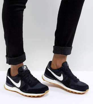 sale retailer 9006a 7d267 Nike Internationalist Nylon Sneakers In Black And White