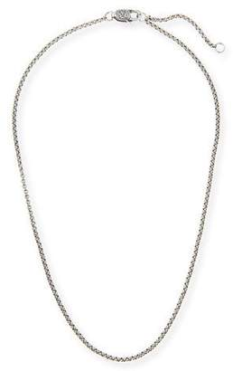 "Konstantino Sterling Silver Adjustable Chain Necklace, 18-20""L"