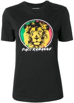 Paco Rabanne 'Lion' print T-shirt