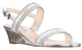 Nina Florece Wedge Sandals