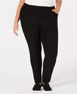 Eileen Fisher Plus Size Tencel® Skinny Corduroy Pants