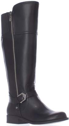 GUESS G By Womens Hailee Leather Closed Toe Knee High Riding, SY, Size 5.0