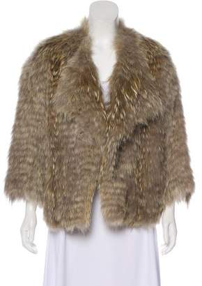 Vince Casual Fur Jacket