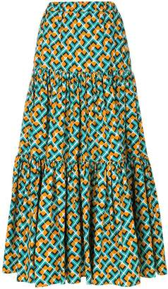 La Doublej tiered peasant skirt