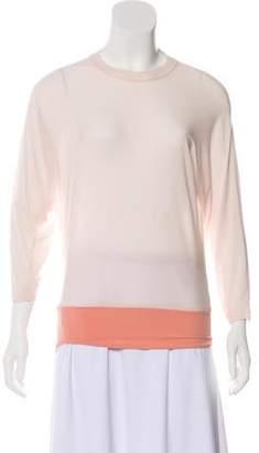 Calvin Klein Collection Oversize Long Sleeve Top