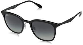 Ray-Ban Unisex's 0RB4278 628211 Sunglasses, Matte Black/Greygradientdarkgrey