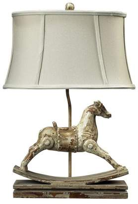 Dimond Lighting 24 Carnavale Rocking Horse Table Lamp