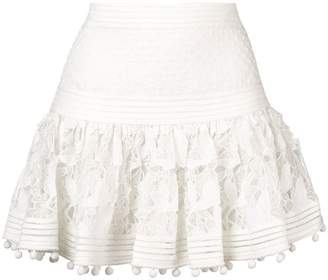 Zimmermann ruffled skirt