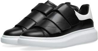 Alexander McQueen Velcro Wedge Sole Sneaker