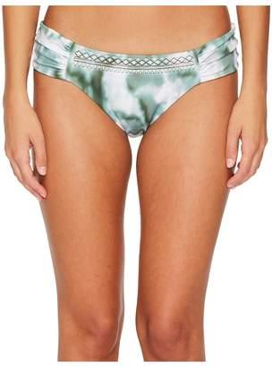 Lucky Brand Indian Summer Side Sash Hipster Bottom Women's Swimwear
