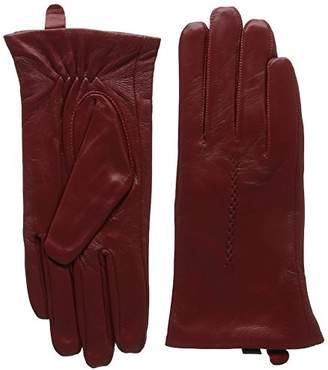 "Butter Shoes Snugrugs Women's Soft Premium Leather Gloves,(Manufacturer Size: 8"")"