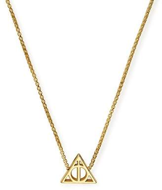 Alex and Ani Women Gold Pendant Necklace of Length 53.34cm AS17HP15G