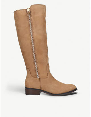 Aldo Gaenna suede knee-high boots