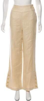 Ralph Lauren Linen High-Rise Pants