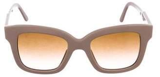 Stella McCartney Square Gradient Sunglasses