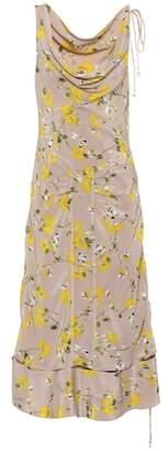 Altuzarra Norma floral silk dress