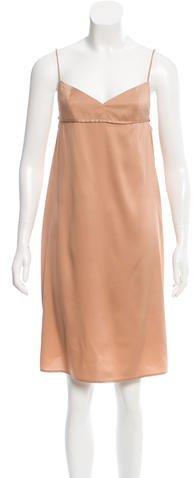 Alexander WangT by Alexander Wang Silk Belted Dress