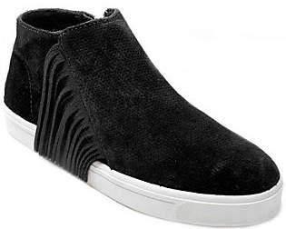 Minnetonka Suede Sneaker Booties - Gwen
