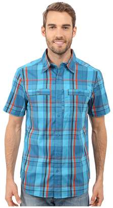 Merrell Greenway Travel Shirt Men's Short Sleeve Button Up