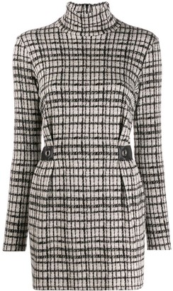 Patrizia Pepe check dress