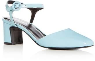Carel Women's Patent Leather Block Heel Pumps