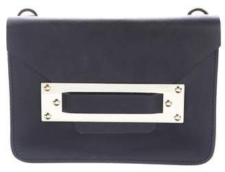 Sophie Hulme Leather Flap Clutch