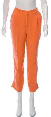 Jenni Kayne Silk Straight-Leg Pants