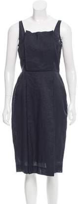 Fendi Woven Midi Dress