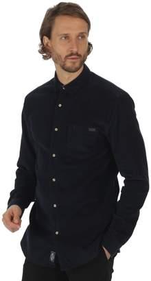 Regatta Great Outdoors Mens Benton Long Sleeve Cord Shirt (M)
